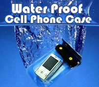 Waterproof Cellphone Case!